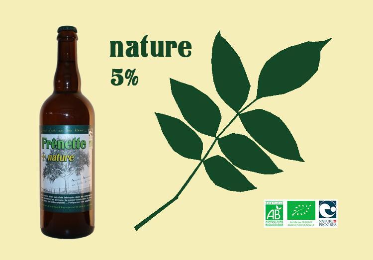 Frênette Nature - Alcool 5 % - 75 cl