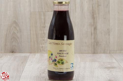 Nectar de mûre sauvage - 75cl