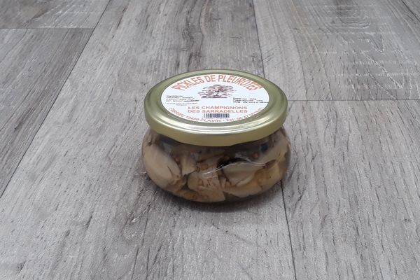 Pickles de pleurotes