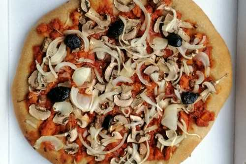 Pizza la Bolo'végane