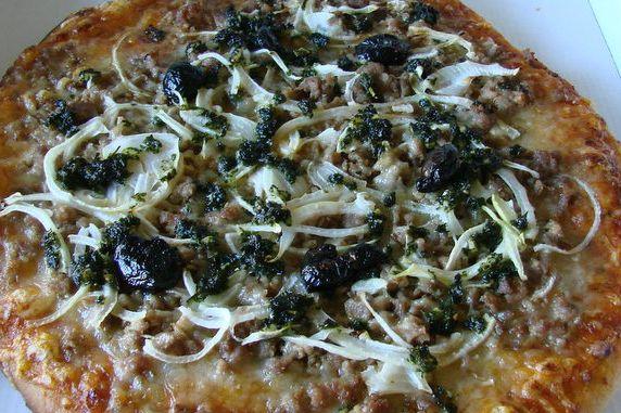 Pizza la Bolognaise