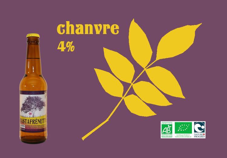 RastaFrênette - Alcool 4 % - 33 cl