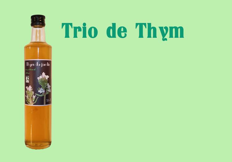 Sirop de Thym - 50 cl