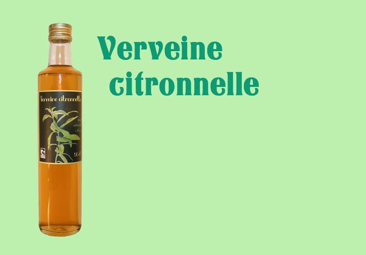 Sirop de Verveine Citronnelle - 50 cl