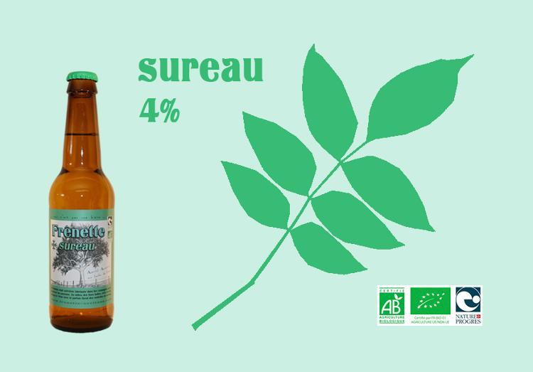Frênette Sureau - Alcool 4 % - 33 cl