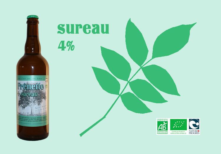 Frênette Sureau - Alcool 4 % - 75 cl