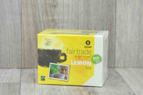 Thé noir citron (sachets)