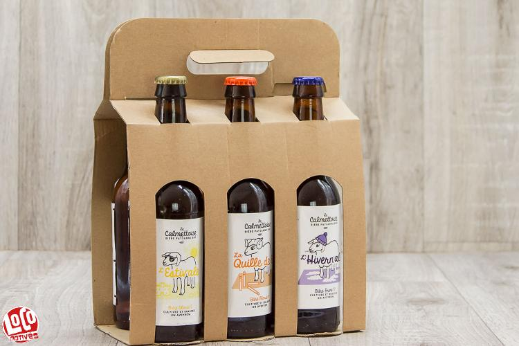 Valisette Mix (2blondes+2quillesde8+1blanche+1brune) - 6 x 33cl