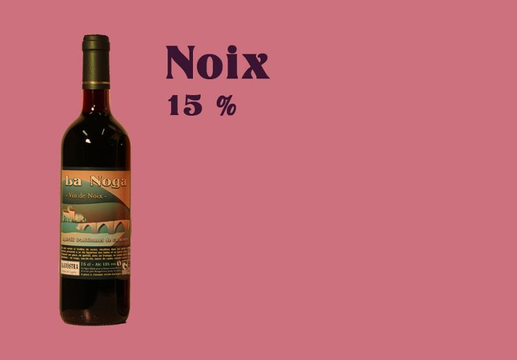 Vin de Noix - 75 cl - Alcool 15 %