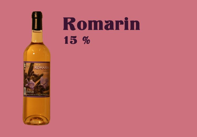 Vin de Romarin - 75 cl - Alcool 15 %