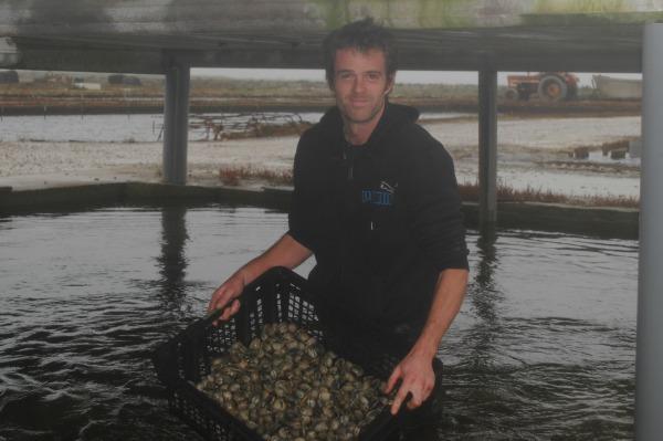 Bertrand Euzen, pêcheur à pied