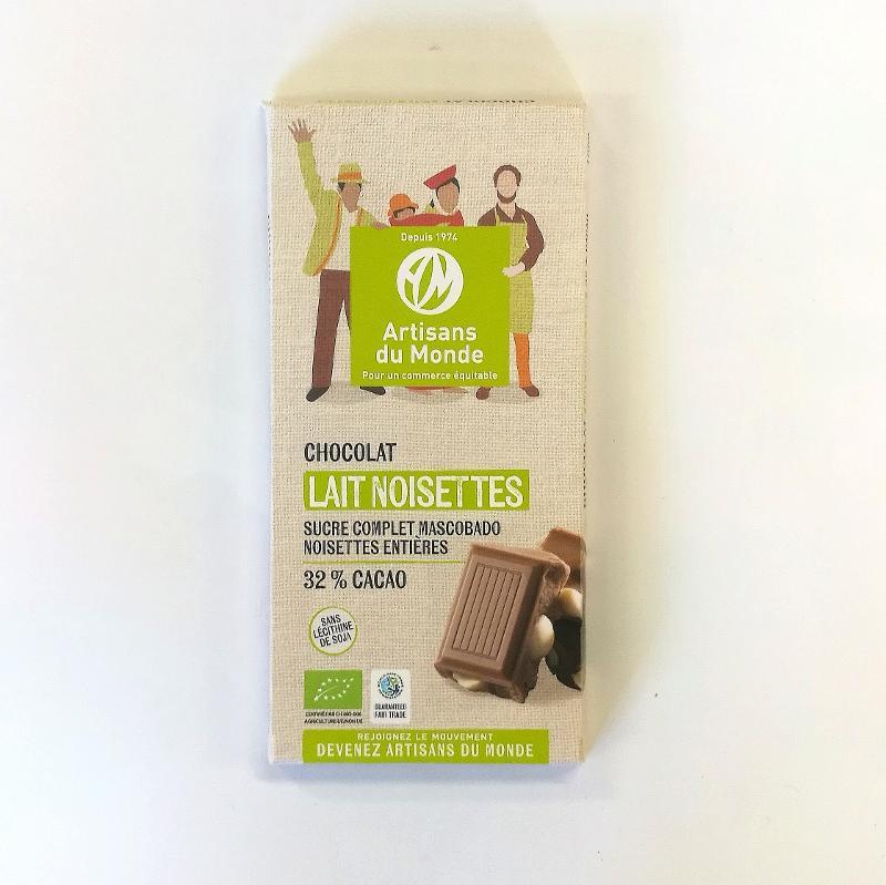 Chocolat lait noisette