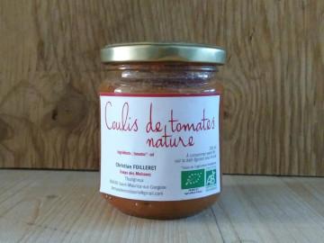 Coulis de tomates nature