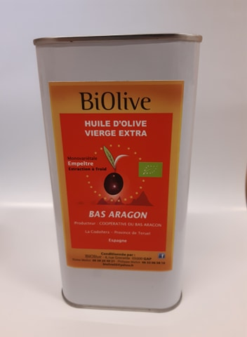 Huile d'Olive AB - Cuisson - 1L
