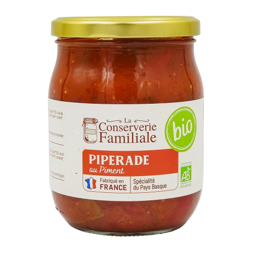 Piperade  au piment d'Espelette BIO France