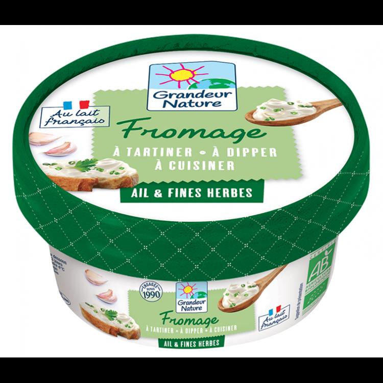 Fromage Crème Ail et Fines herbes 150 g