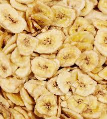 Bananes chips séchées bio