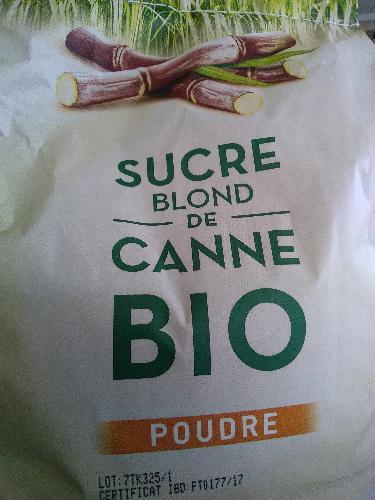 Sucre de Canne blond (Brésil) VRAC