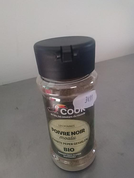 Poivre noir Moulu com.équi.Madagascar / Ground black pepper