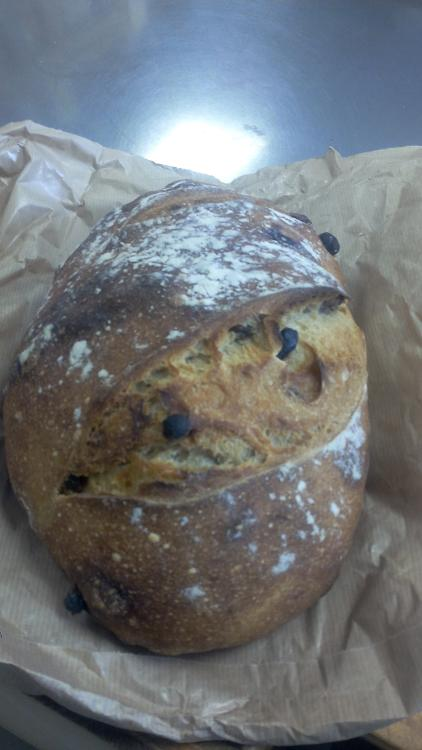 Pain Raisin noisette Catherine Naslin / Nut and raisin bread