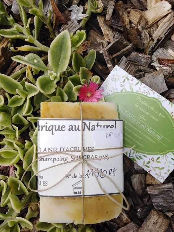Savon Ma fabrique au Naturel - Plaisir d'agrumes