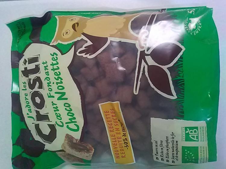 Crosti coeur fondant choco-noisette 525 g