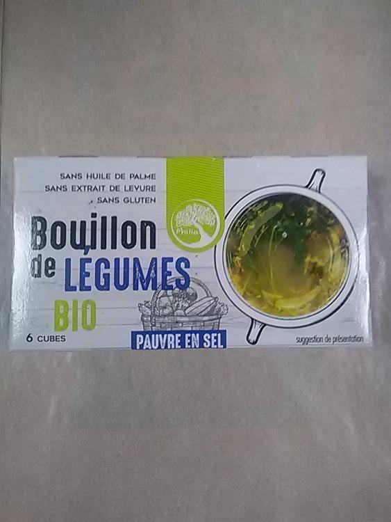 Tablettes bouillon légumes x 6 (pauvre en sel)