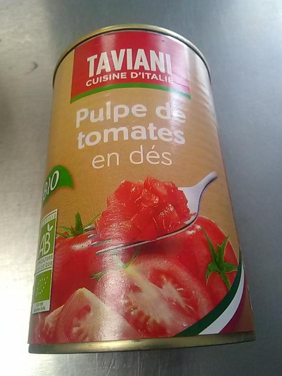 pulpe de tomate en dés