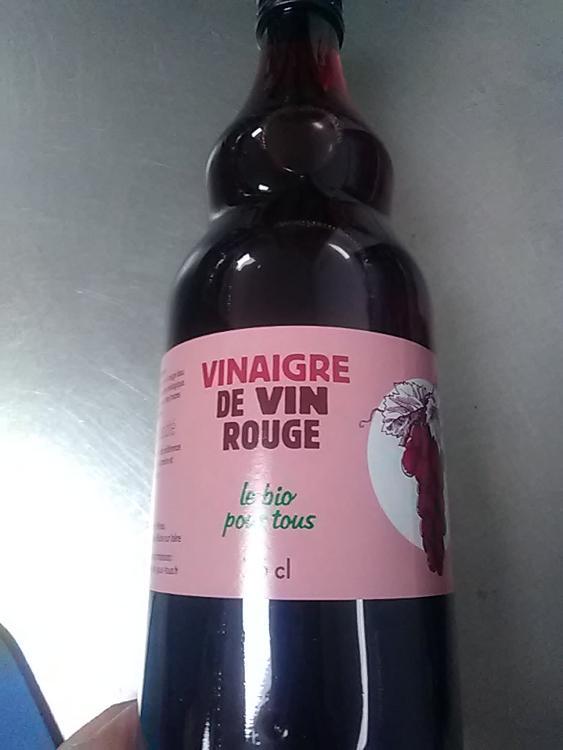 vinaigre de vin rouge 75 cl