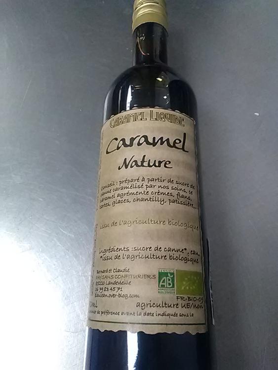 Caramel liquide 250 mL