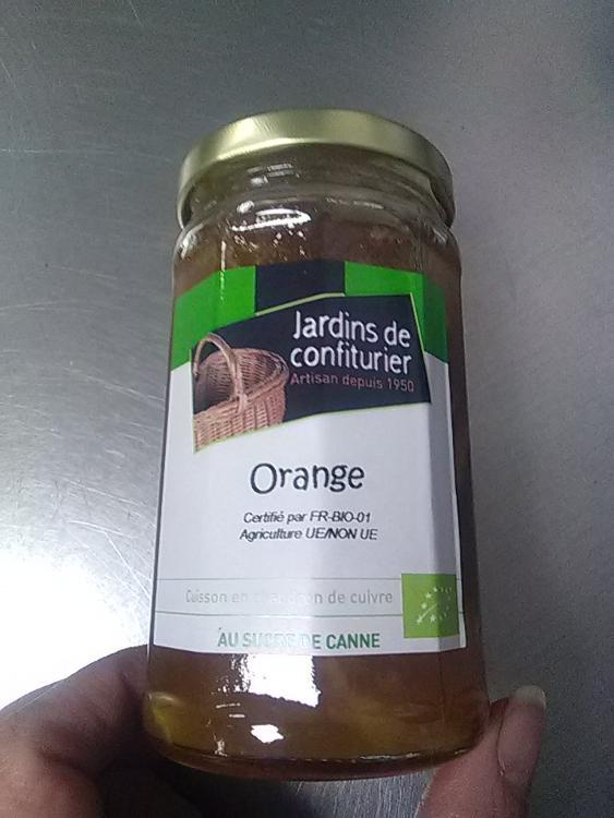 Confiture d'orange au sucre de canne