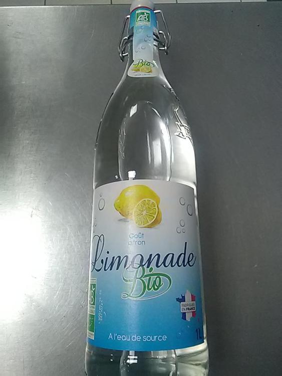 Limonade bio goût citron