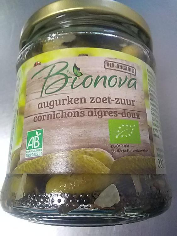 Cornichons aigres-doux Bionova/ Gherkin