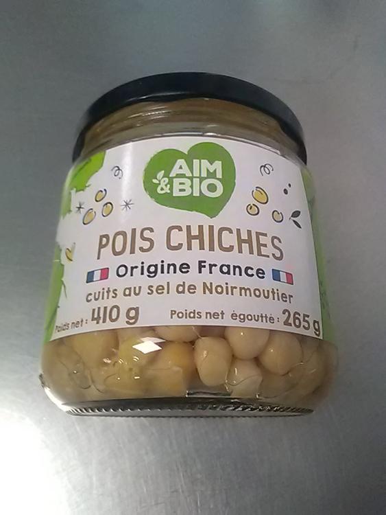 Pois chiches cuits (AIM & BIO)