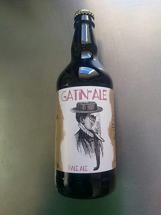 Bière GATIN'ALE 5.6% Pale ale
