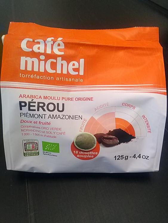 Café dosettes souples x18 Café Michel / Pérou