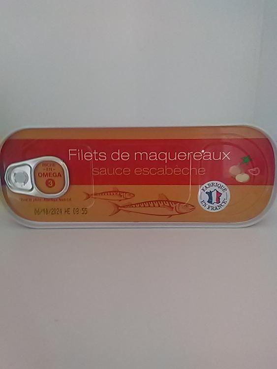 Filets de maquereaux sauce Escabèche