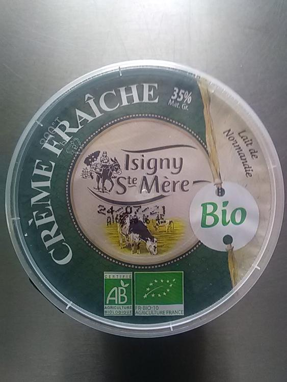 Crème Fraîche épaisse Isigny Ste Mère 35% MG  20CL