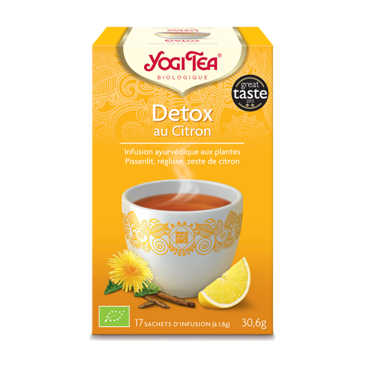 Infusion Detox Citron YOGI TEA