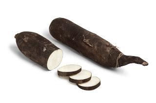 Radis noir long - Long black radish