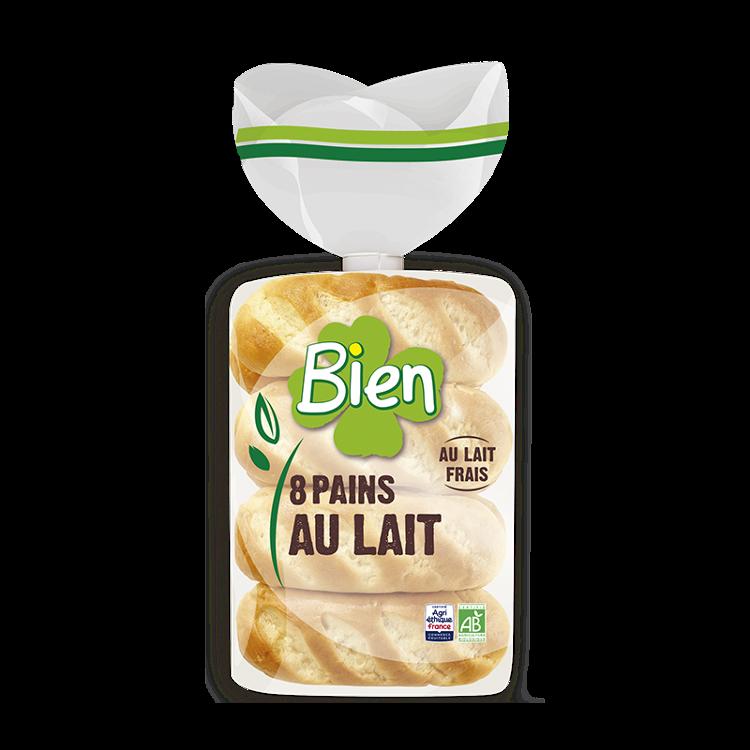 """Pains au lait """"BIEN"""" x 8"""