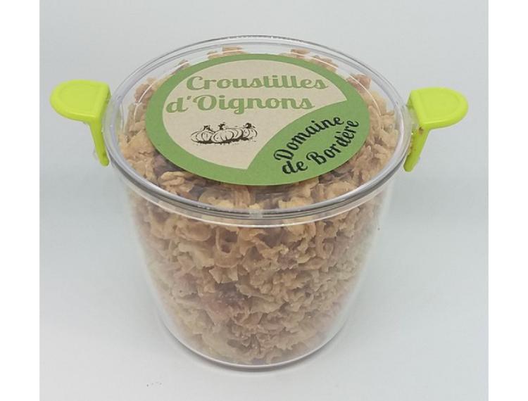 Croustilles d'oignons Bocal
