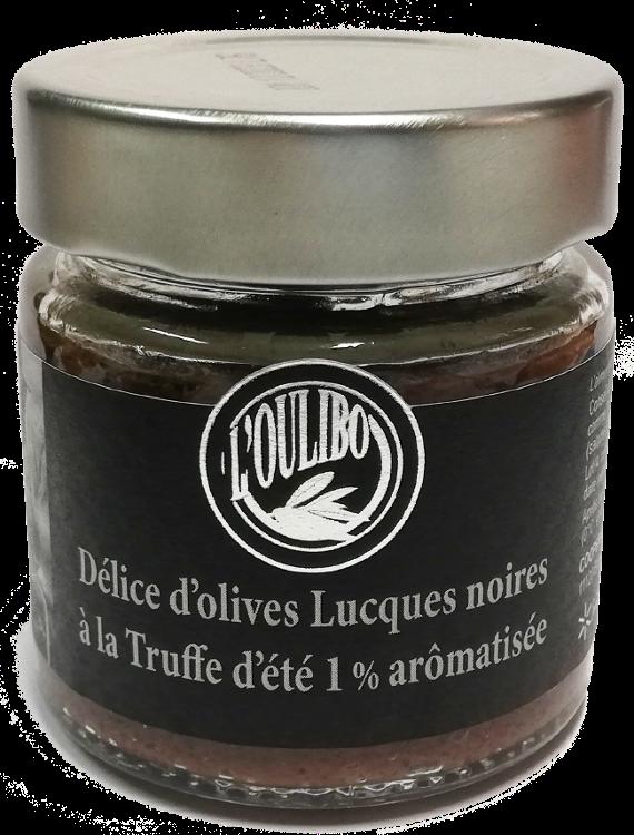 Délice d'olives noires à la truffe d'été 1%