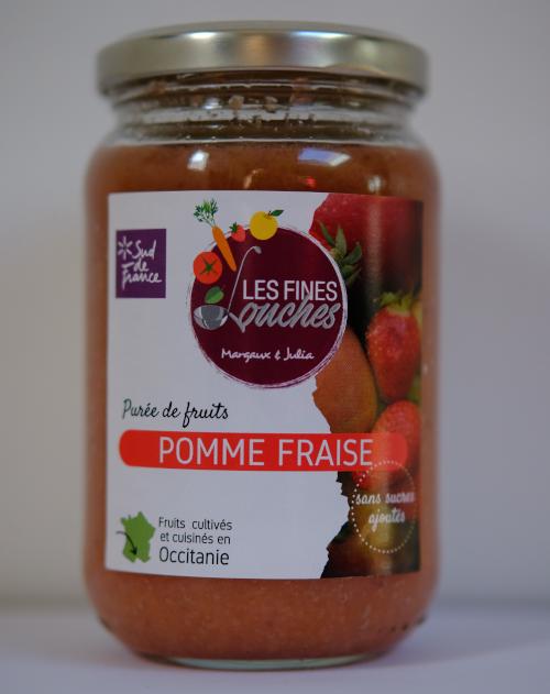 Purée de Pomme Fraise