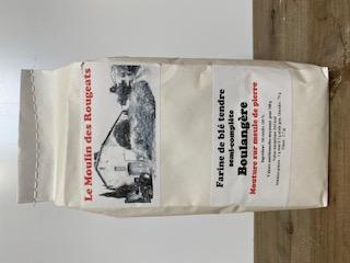 Farine de blé tendre semi-complète BOULANGERE