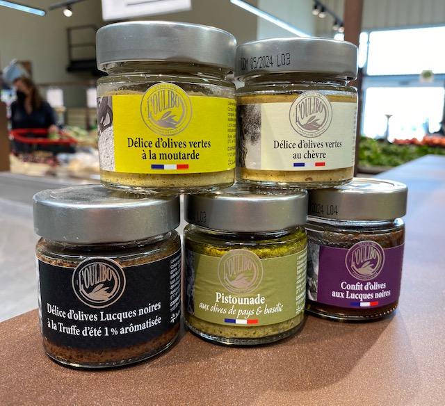 Délice d'olives vertes à la moutarde