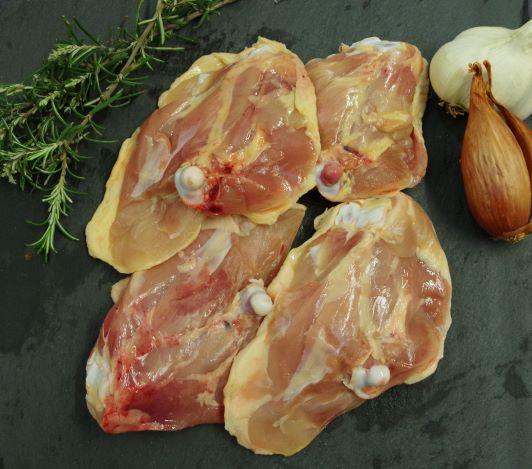Haut de cuisse de poulet x4