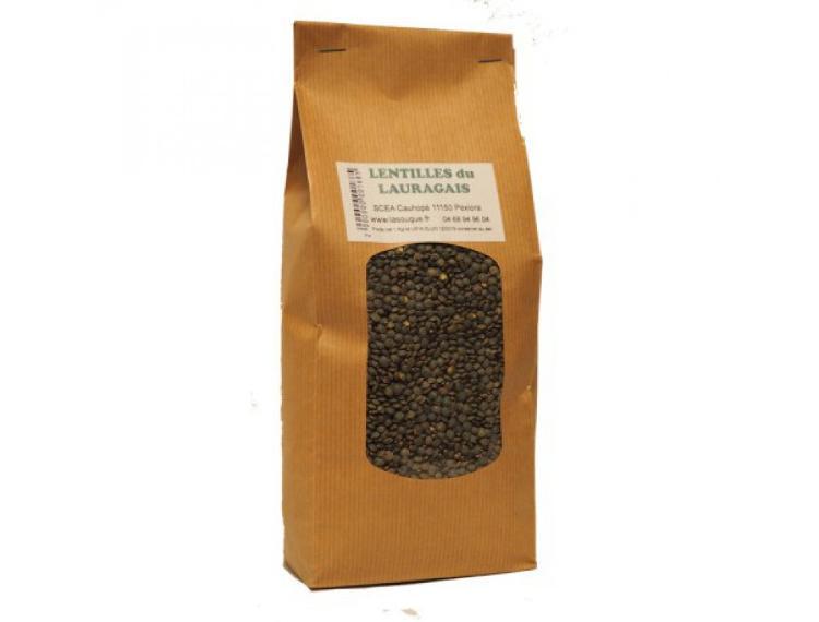 Lentilles du Lauragais 1 kg