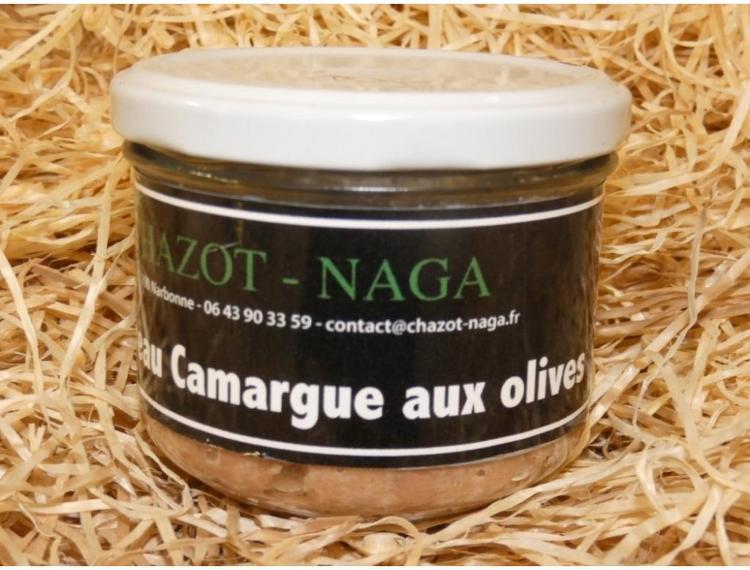 Terrine de Taureau Camargue aux olives