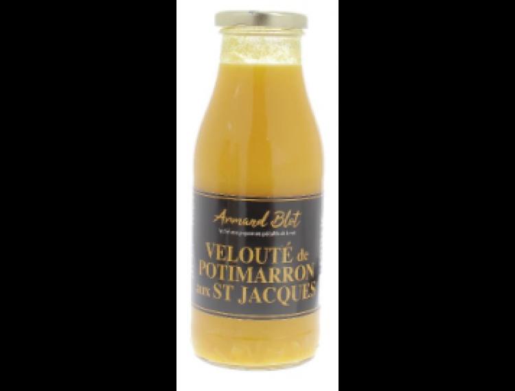 Velouté de Potimarron aux St Jacques